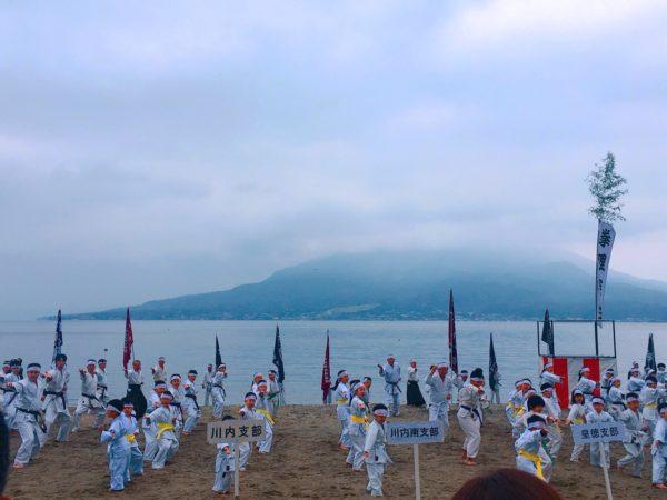 鹿児島県合同寒稽古に参加しました。